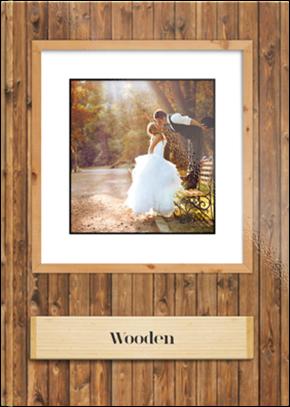Fotoksiążka Wooden